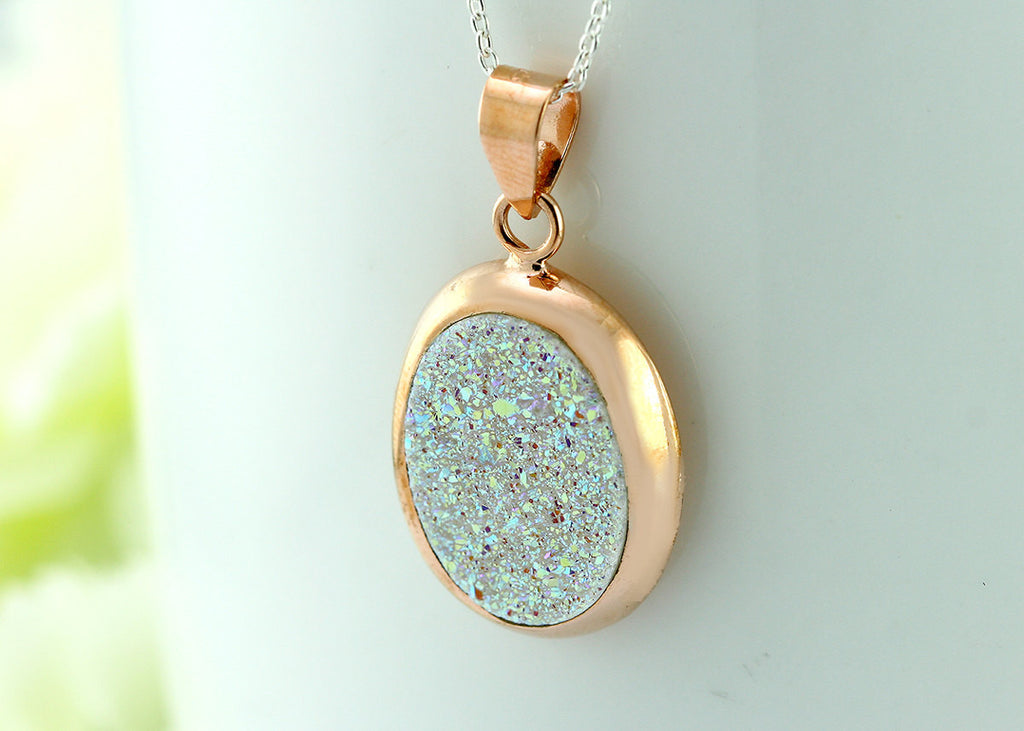 Rose gold,Druzy Necklace,Agate Necklace,Geode Necklace,Gemstone Necklace,Trending,Quartz,drusy necklace,necklace,statement necklace,druzy