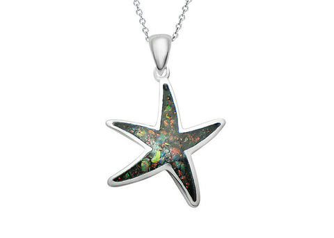 Star,Opal Necklace,Opal Pendant,Geode Necklace,Gemstone Necklace,Stone Necklace,Birthstone,October,Opal jewelry,Agate Necklace,