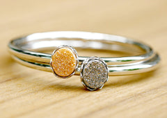 Druzy Bangle,Stone Bangle,Druzy Bracelets,Quartz Bangle,Quartz Bracelets,Stacking bangle,Gemstone bangle,Gemstone Brecelets