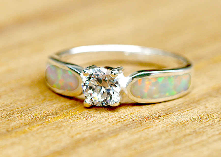 Engagement Ring,Opal Ring,Wedding ring,October Birthstone,Birthstone Ring,gemstone ring,Agate ring,mother ring,Stone ring,anniversary