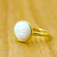 Gold ring,Opal Ring,Engagement Ring,October Birthstone,Birthstone ring,Geode ring,Agate ring,Mother Gifts,Stone ring,Opal,Silver