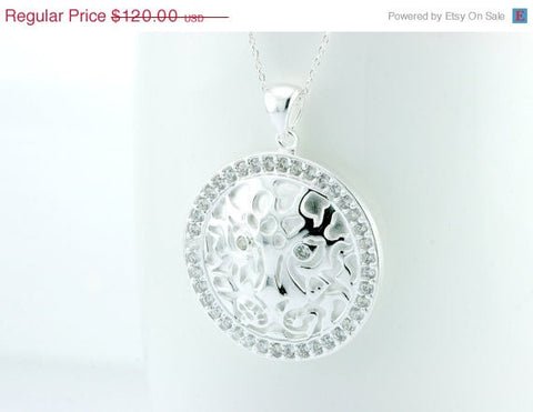 40% Off Cubic Zirconia,Silver Necklace,Necklace,Statement,CZ pendant,Silver,pendant,Delicate,dainty,CZ,gemstone,gemstone necklace,halloween