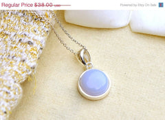 40% Off Blue Chalcedony Necklace,Geode Necklace,Quartz Necklace,Layered Necklace,Agate Necklace,Bridal Necklace,Summer,Trending,Gifts idea