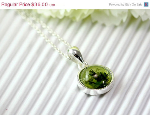 40% Off Prehnite Necklace,Geode Necklace,Quartz Necklace,
