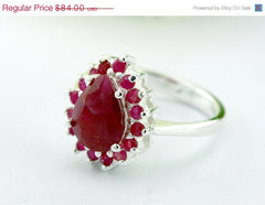 40% Off Vintage,Ruby ring,Agate Ring,Geode Ring,Statement Ring,Agate Ring,Stone Ring,Gemstone Ring,birthstone ring,Geode,Stacking,Antique