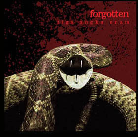 Forgotten- Tiga Angka Enam CD on Rottrevore Rec.