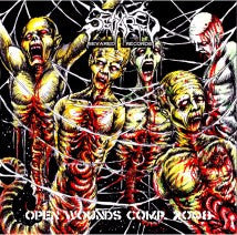SEVARED RECORDS- Open Wounds Comp. 2008 CD