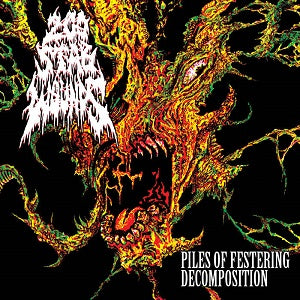 200 Stab Wounds- Piles Of Festering Decoomposition CD on Maggot Stomp