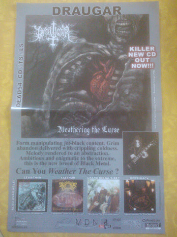 Draugar- Weathering The Curse POSTER