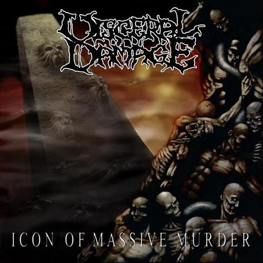 Visceral Damage- Icon Of Massice Murder CD on Metal Age Prod.