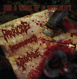 Parricide / Incarnated / Reexamine- Brutal Split CD on Obliterat