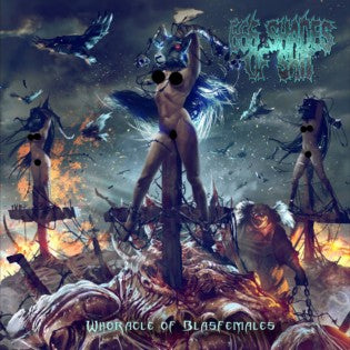 666 Shades Of Shit- Whoracle Of Blasfemales CD on Rotten Roll Rex