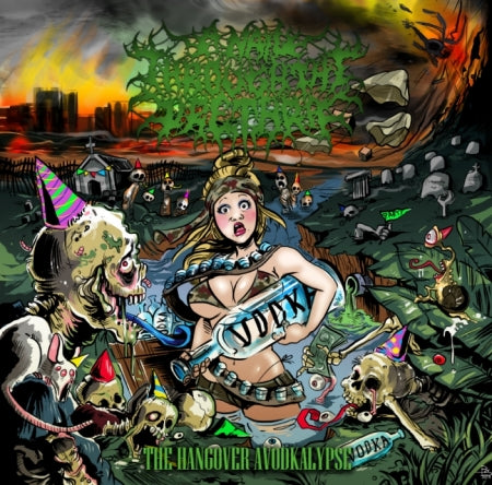 A Nail Throught The Urethra- The Hangover Avodkalypse CD on Rotten Roll Rex