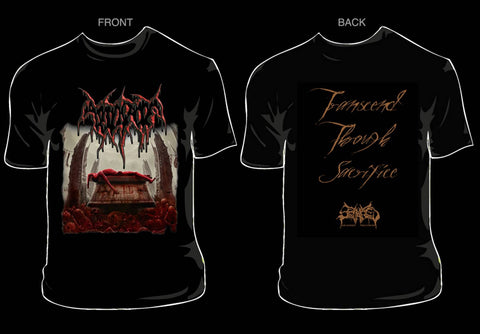 ABDICATE- Transcend Through Sacrifice T-SHIRT SMALL