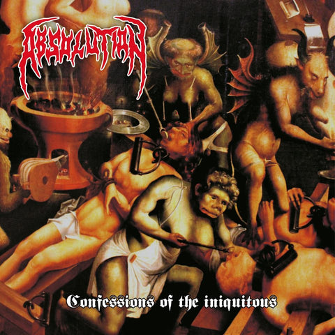 Absolution- Confessions Of The Iniquitons CD on CDN Rec.