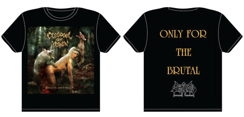CESSPOOL OF VERMIN- Beastial Necrophilia T-SHIRT S-XXL PRE-ORDER!!!