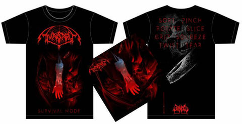 ANASARCA- Survival Mode CD / T-SHIRT PACKAGE OUT NOW!!!
