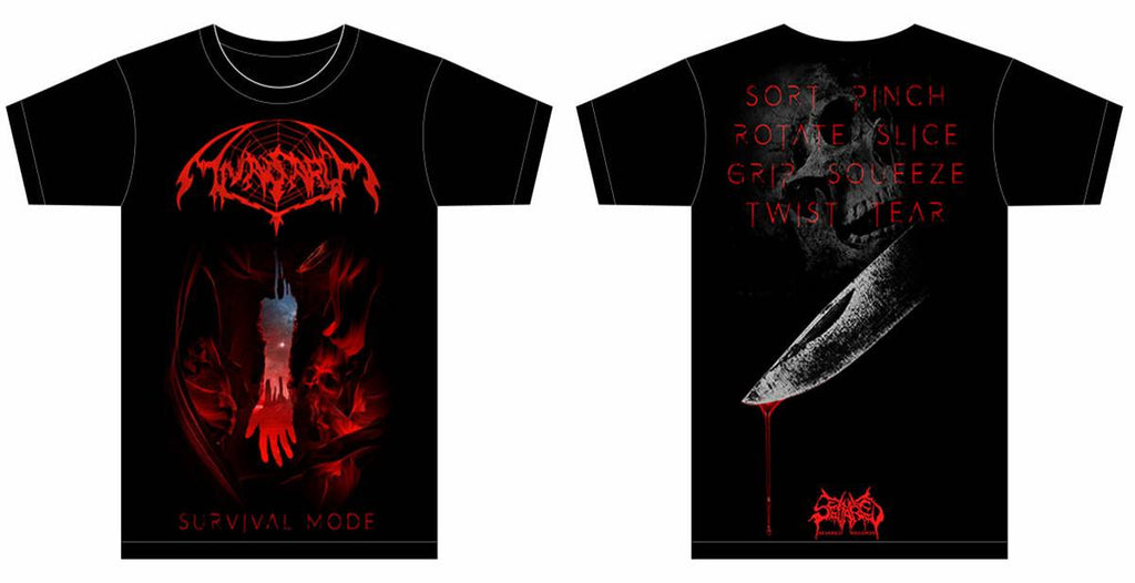 ANASARCA- Survival Mode T-SHIRT S-XXXL OUT NOW!!!