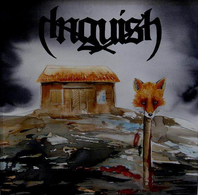 Anguish- Through The Archdemon's Head CD on Dark Descent Rec.