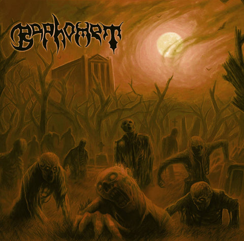 BAPHOMET- Death In The Beginning CD on Sevared Records