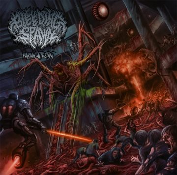 Bleeding Spawn- Pariah Attestant CD on CDN Rec.