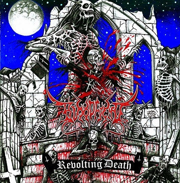 Bloodfiend- Revolting Death CD on Disembodied Rec.