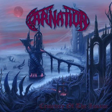 Carnation- Cemetery Of The Insane CD on Final Gate Rec.