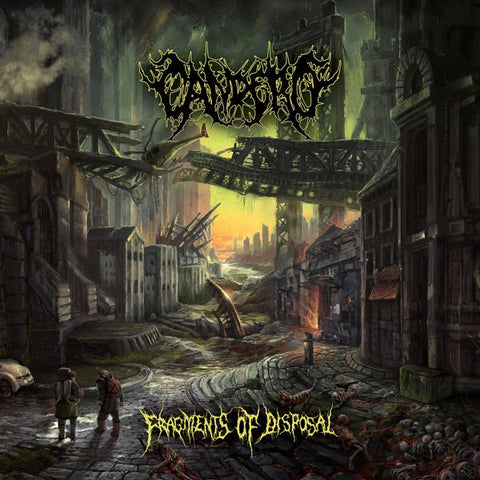 Candero- Fragments Of Disposal CD on Rising Nemesis Rec.