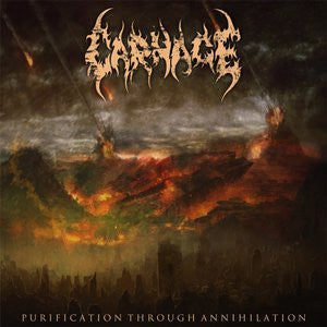 CARNAGE- Purification Through Annihilation CD on Sevared Records