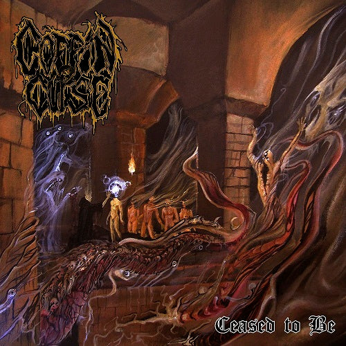 Coffin Curse- Ceased To Be CD on Memento Mori Rec.
