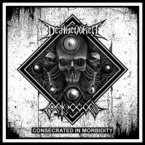 Pathogen / Deathevoker- Consecrated In Morbidity Split CD on Old Temple Rec.