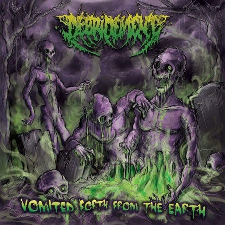 Debridement- Vomited Forth From The Earth CD on Rotten Roll Rex