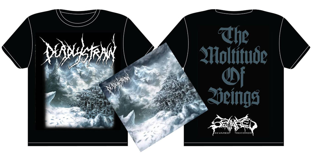 DEADLYSTRAIN- The Moltutude CD/T-SHIRT PACKAGE X-LARGE