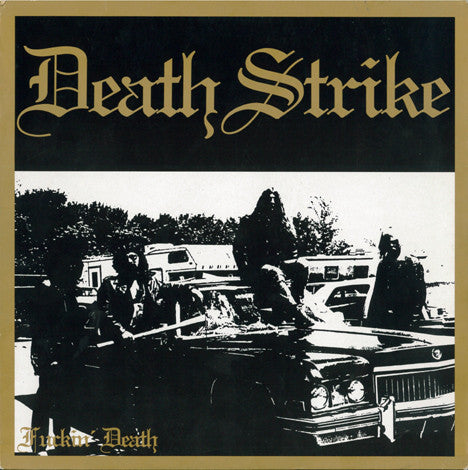 Death Strike- F*ckin' Death CD on Dark Descent Rec.
