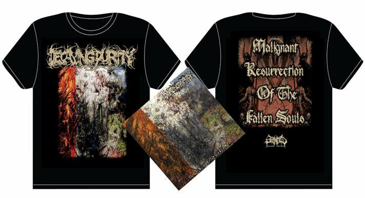 DECAYING PURITY- Malignant.. CD / T-SHIRT PACKAGE X-LARGE