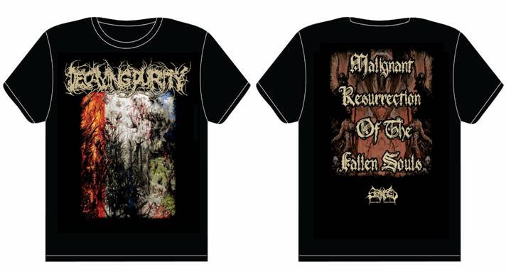 DECAYING PURITY- Malignant Resurrection.. T-SHIRT SMALL