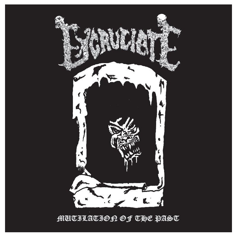 Excruciate- Mutilation Of The Past CD on Dark Symphonies Rec.