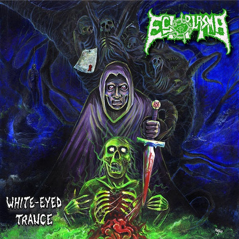 Ectoplasma- White Eyed Trance CD on Memento Mori Rec.
