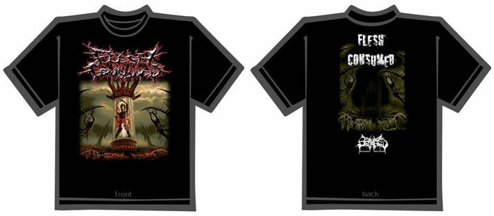 FLESH CONSUMED- Collection T-SHIRT MEDIUM