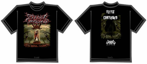 FLESH CONSUMED- Collection T-SHIRT LARGE