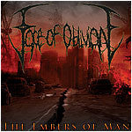 Face Of Oblivion- The Embers Of Man CD on Comatose Music