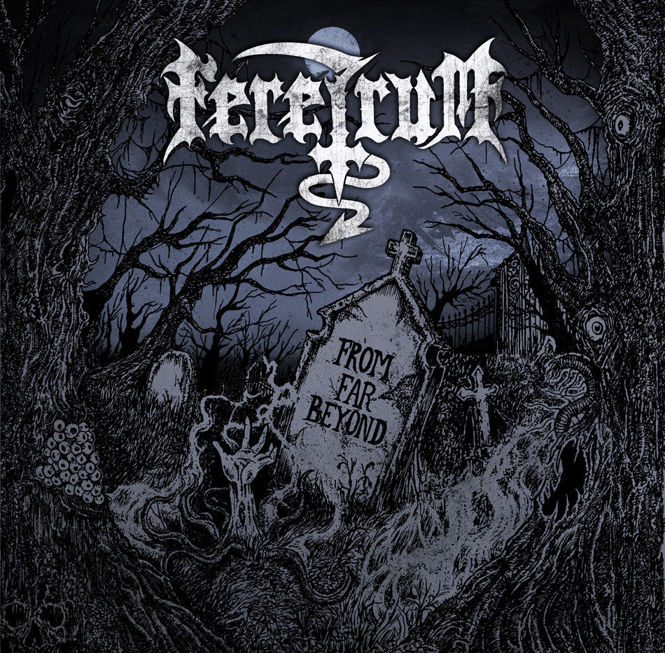 Feretrum- From Far Beyond CD on Memento Mori Rec.
