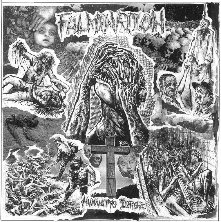Fulmination- Humanity's Dirge Discograph DOUBLE CD on Dark Desce