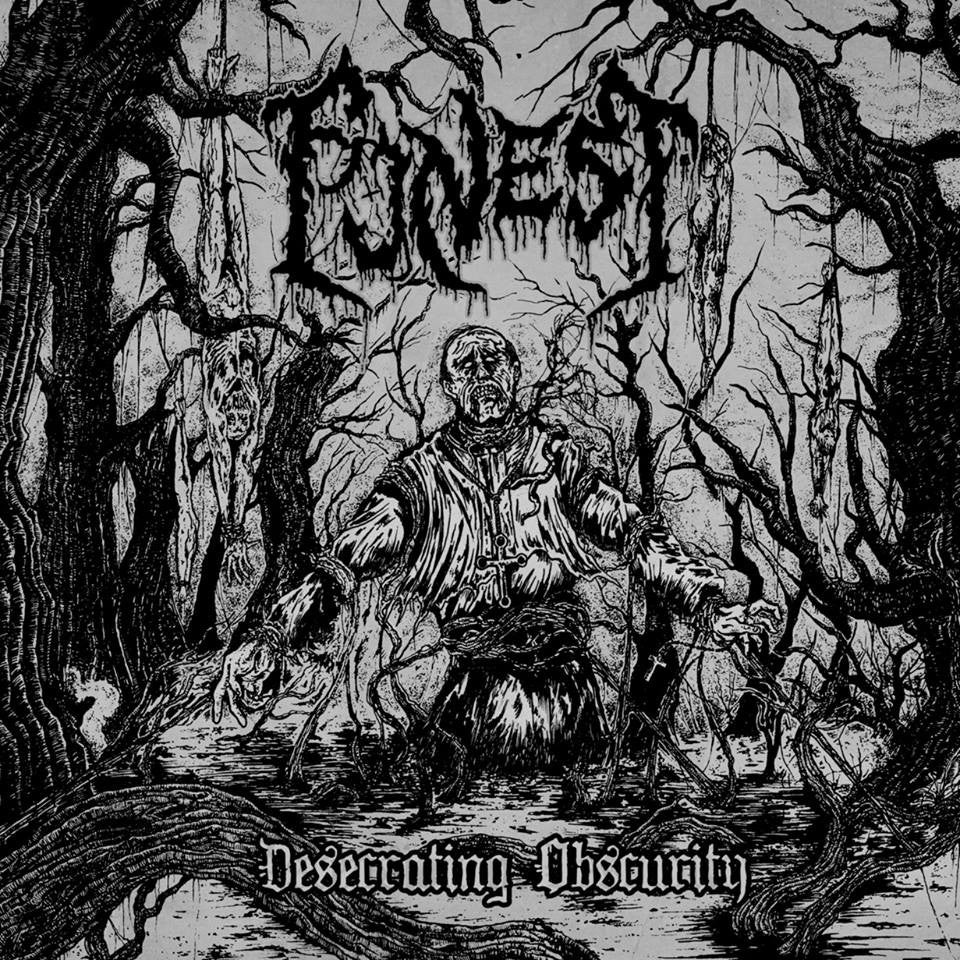 Funest- Desecrating Obscurity CD on Memento Mori