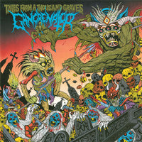 Gangrenator- Tales From A Thousand Graves CD on Apocalyptic Empi