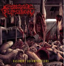 GROTESQUE FORMATION- Basement Decompositions CD NEW LAYOUT!!! on