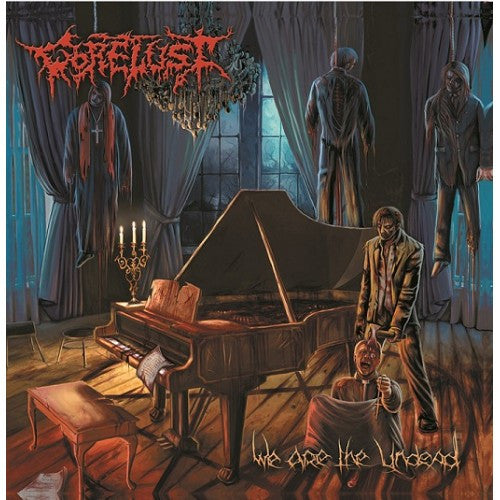 Gorelust- We Are The Undead CD on PRC Music