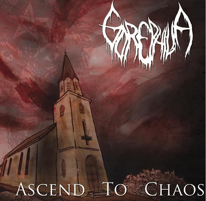 Gorephilia- Ascend To Chaos CD on Dark Descent Rec.