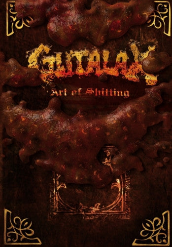 Gutalax- Art Of Shitting DVD on Rotten Roll Rex