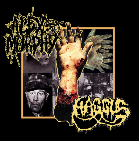 Haggus / Alex Murphy- Split CD on Gore Cannibal Rec.
